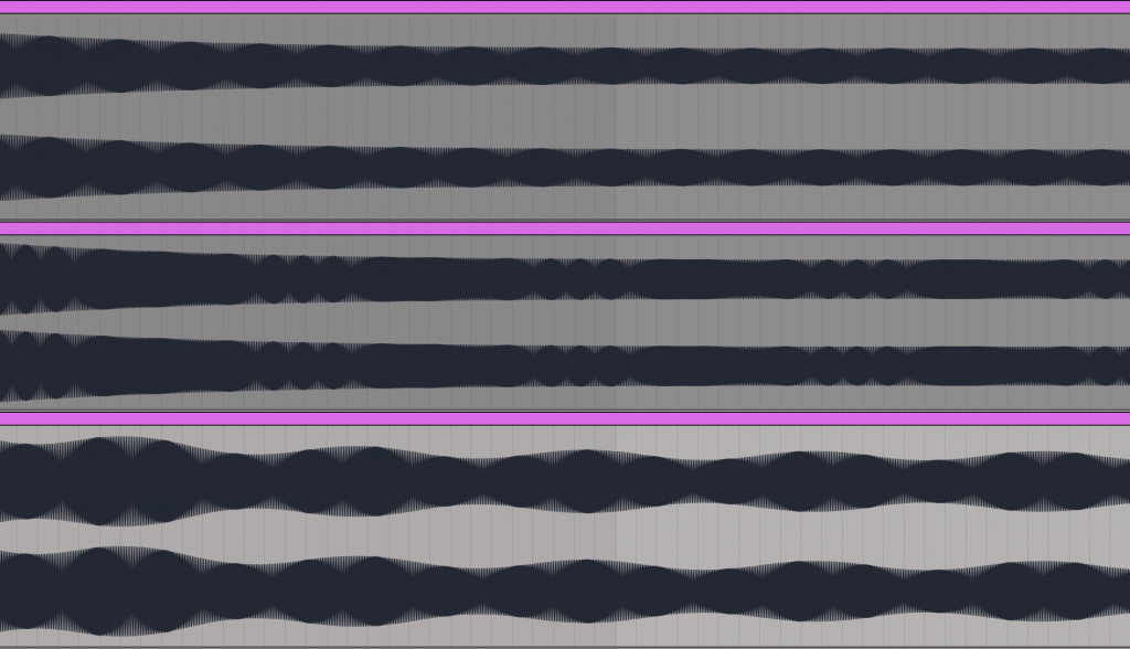 different waveforms
