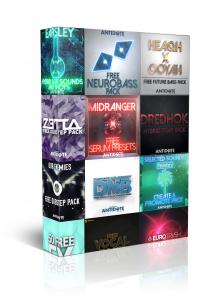 free packs antidote audio