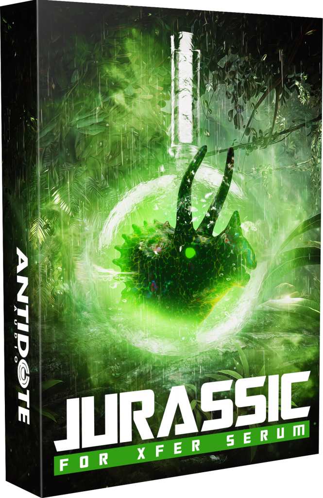 Jurassic: 100+ Dubstep Serum Presets & 39 Wavetables for