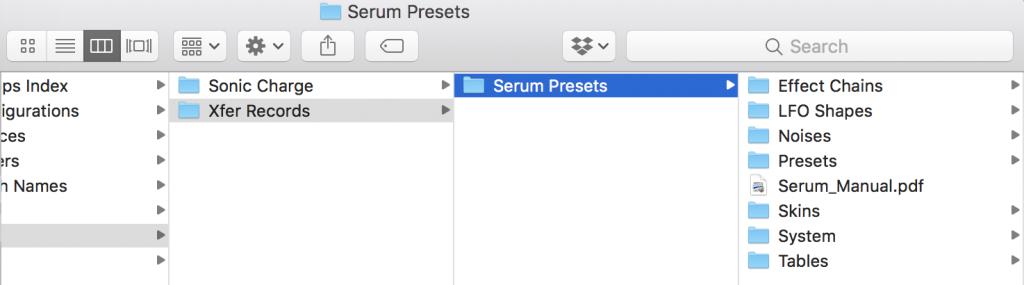 serum skins