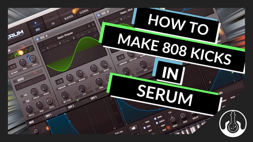 Tutorial] How to Make an 808 Kick Drum In xFer Record's Serum