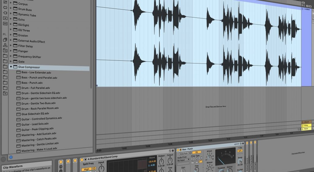 vocal chains processing