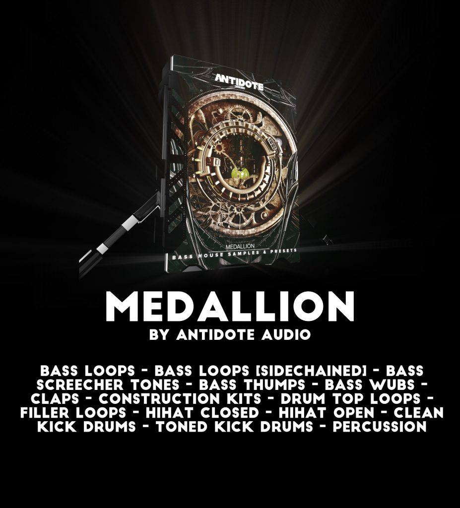 antidote audio medallion