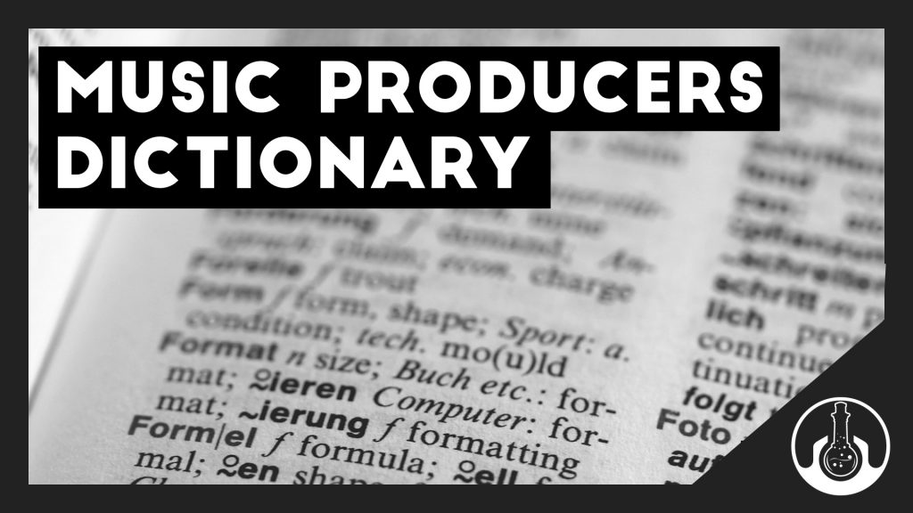 music producer dictionary