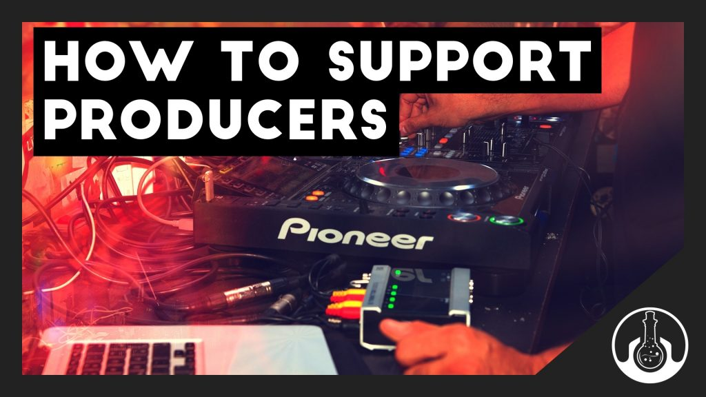 how to support music producers