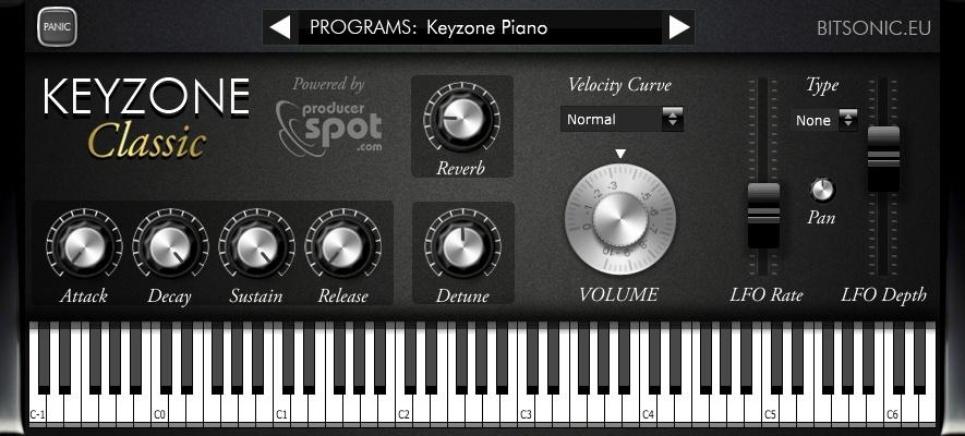 keyzone classic free piano