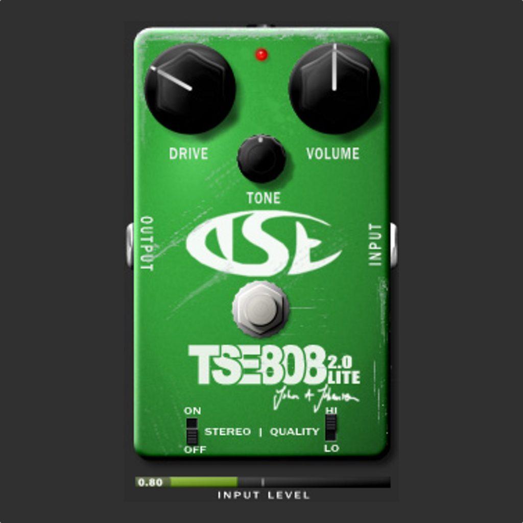 tse 808 distortion pedal