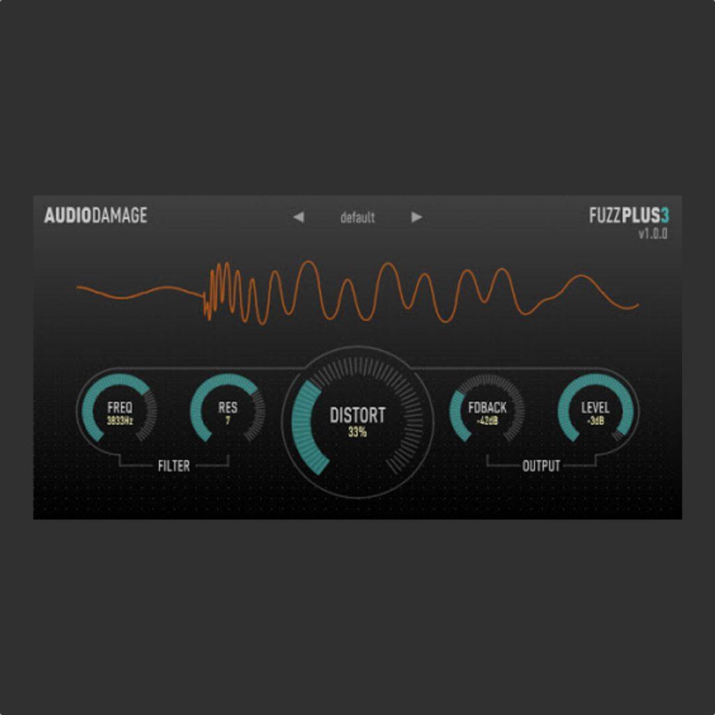 audio damage fuzz distortion