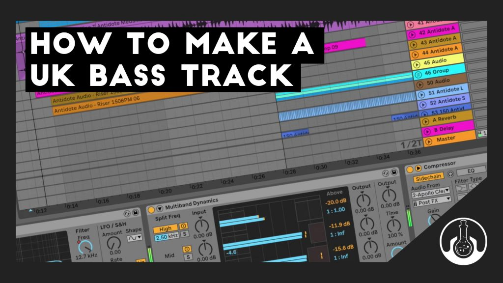 ableton live uk bass tutorial